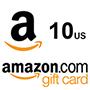 Amazon Gift Card 10$ (US region)