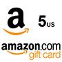 Amazon Gift Card 5$ (US region)