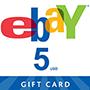 eBay Gift Card 5$ (US регіон)  - оплата через інтернет