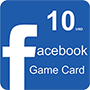 Facebook Game Card 10$ (US регион) - оплата через интернет