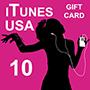 iTunes Gift Card 10 (US region)