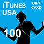 iTunes Gift Card 100 (US region)