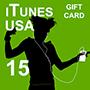 iTunes Gift Card 15 (US region)