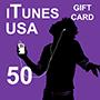 iTunes Gift Card 50 (US region)