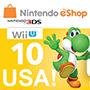 Nintendo eShop card 10$ (US region)