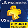 Playstation Plus Card 3 Month (US region)