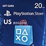 Playstation Gift Card 20$ (US регион) - оплата через интернет