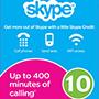 Skype Gift Card 10$ (US регіон) - оплата через інтернет