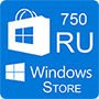 Windows Store 750 RU