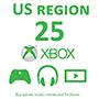 Xbox Gift Card 25$ (US регион) - оплата через интернет